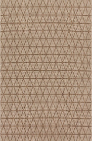 Isle Collection Beige/Mocha Rug