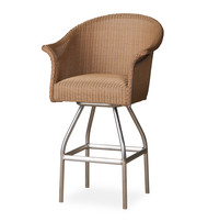 Lloyd Flanders All Seasons Padded Swivel Bar Stool