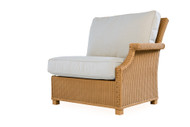 Lloyd Flanders Hamptons Left  Arm Sectional Chair