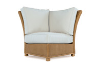 Lloyd Flanders Hamptons Corner Sectional Chair