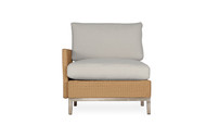 Lloyd Flanders Elements Woven Right Arm Sectional Lounge Chair