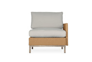 Lloyd Flanders Elements Woven  Left Arm Sectional Lounge Chair