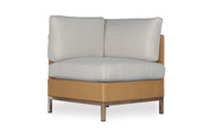 Lloyd Flanders Elements Woven Corner Sectional Chair