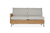 Lloyd Flanders Elements Woven Right Arm Sectional Settee