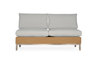 Lloyd Flanders Elements Woven Armless Sectional Settee