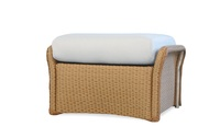 Lloyd Flanders Replacement Cushion for Weekend Retreat Woven Ottoman