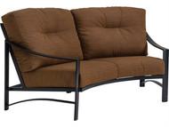 Tropitone Kenzo Cushion Crescent Loveseat
