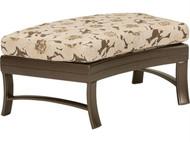 Tropitone Corsica Crescent Cushion Ottoman Bench