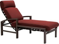 Tropitone Lakeside Cushion Chaise Lounge with Arms