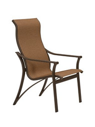 Tropitone Corsica High Back Sling Dining Chair