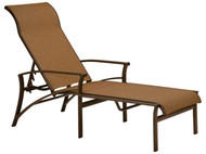 Tropitone Corsica Sling Chaise Lounge with arms