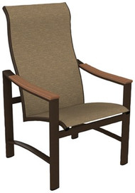 Tropitone Brazo Sling High Back Dining Chair