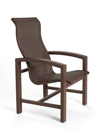 Tropitone Lakeside Sling High Back Dining Chair