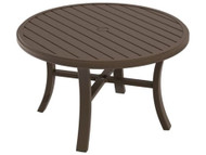 "Tropitone Banchetto 42"" Round Chat Table"