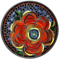 """KNF 18"""" Round Zinnia Top w/Plant Stand Base"""