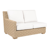Replacement Cushions for Kingsley Bate St Barts Sectional - Left Arm (Facing) Love Seat