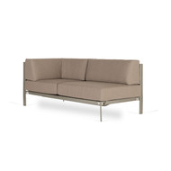 Brown Jordan Parkway Modular Sectional LAF Loveseat