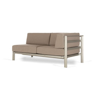 Brown Jordan Parkway Modular Sectional RAF Loveseat