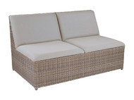 Furniture Cover for Kingsley Bate Milano Sectional Armless Love Seat (MO64)
