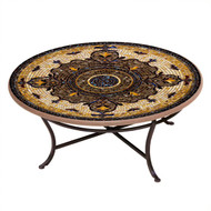 "KNF 36"" Round Almirante Coffee Table"