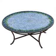 "KNF 36"" Round Belize Coffee Table"