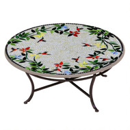 "KNF 36"" Round Hummingbird Coffee Table"