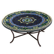 "KNF 36"" Round Lake Como Coffee Table"