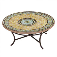 "KNF 36"" Round Malibu Coffee Table"