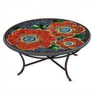 "KNF 36"" Round Zinnia Coffee Table"