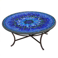 "KNF 42"" Round Bella Bloom Coffee Table"