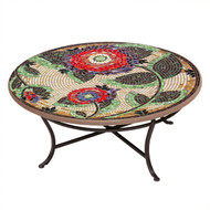 "KNF 42"" Round Dahlia Coffee Table"