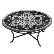 "KNF 42"" Round Grigio Coffee Table"