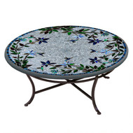 "KNF 42"" Round Royal Hummingbird Coffee Table"