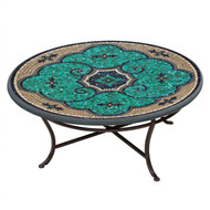 "KNF 42"" Round Sardinia Coffee Table"