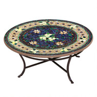 "KNF 42"" Round Tuscan Lemon Coffee Table"