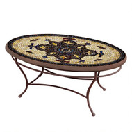 "KNF 42"" Oval Almirante Coffee Table"