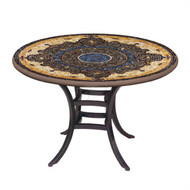 "KNF 36"" Round Almirante Bistro Table"
