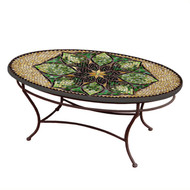 "KNF 42"" Oval Arenal Coffee Table"