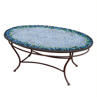 "KNF 42"" Oval Belize Coffee Table"