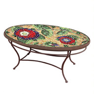 "KNF 42"" Oval Dahila Coffee Table"