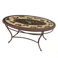 "KNF 42"" Oval Finch Coffee Table"