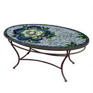 "KNF 42"" Oval Giovella Coffee Table"