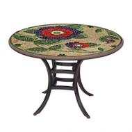 "KNF 36"" Round Dahlia Bistro Table"