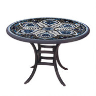 "KNF 36"" Round Grigio Bistro Table"