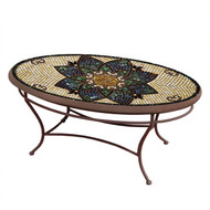 "KNF 42"" Oval Monaco Coffee Table"