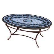 "KNF 42"" Oval Navagio Coffee Table"