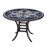 "KNF 42"" Round Grigio Bistro Table"