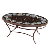 "KNF 42"" Oval Oasis Coffee Table"