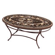 "KNF 42"" Oval Provence Coffee Table"
