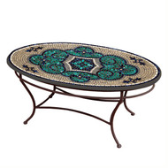 "KNF 42"" Oval Sardinia Coffee Table"